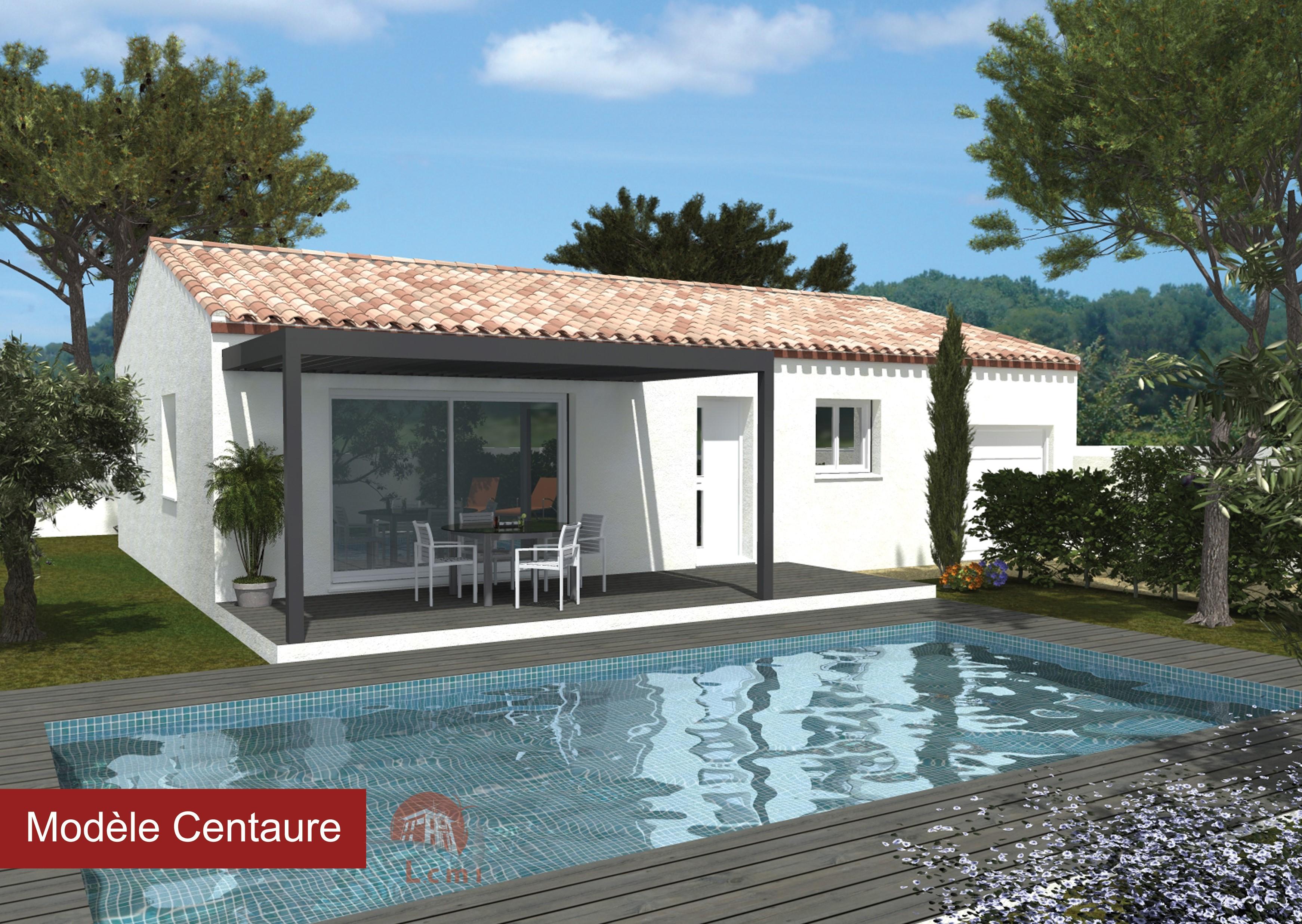 Maisons + Terrains du constructeur LACIN CONSTRUCTION • 90 m² • CAUX