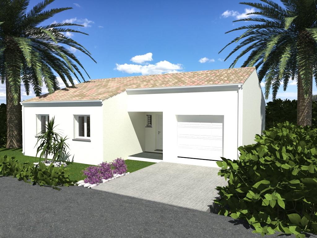 Maisons du constructeur LACIN CONSTRUCTION • 90 m² • MAUREILHAN