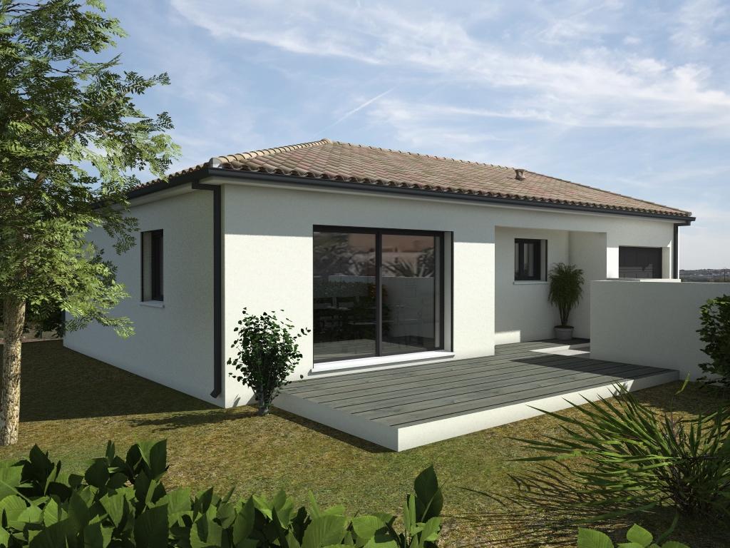 Maisons du constructeur LACIN CONSTRUCTION • 90 m² • PAILHES