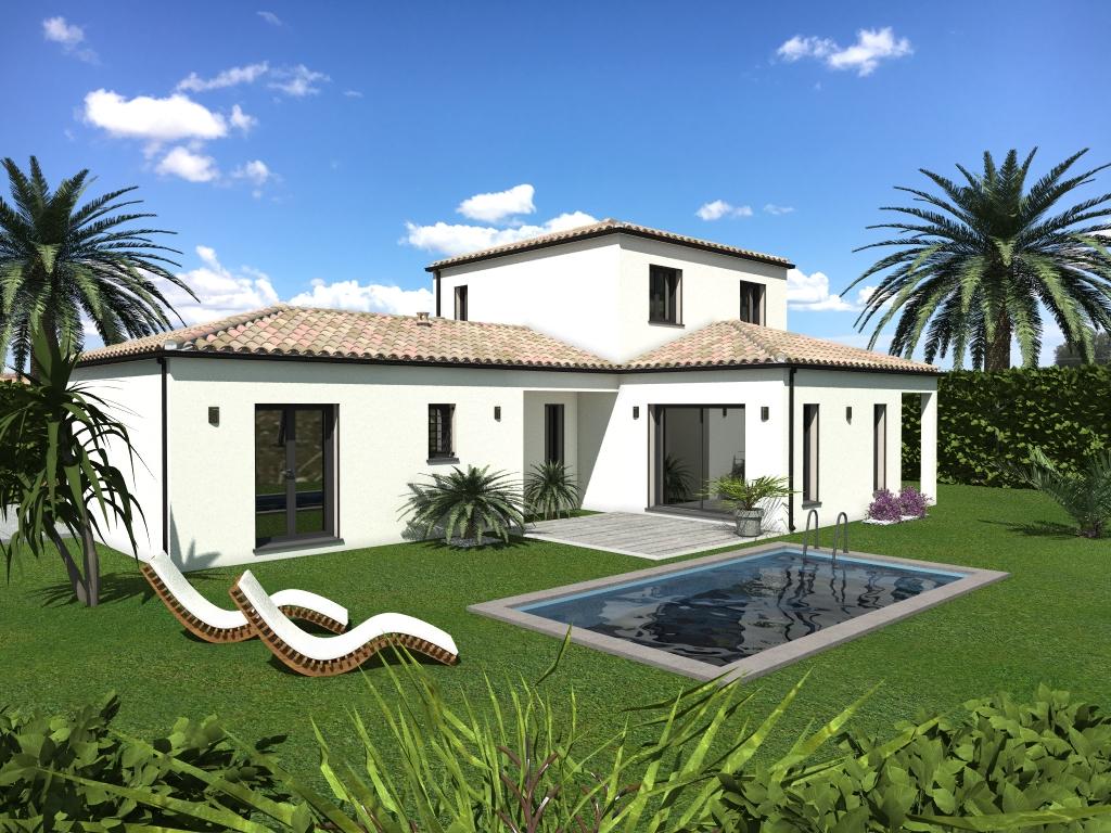 Maisons du constructeur LACIN CONSTRUCTION • 125 m² • MONTBLANC