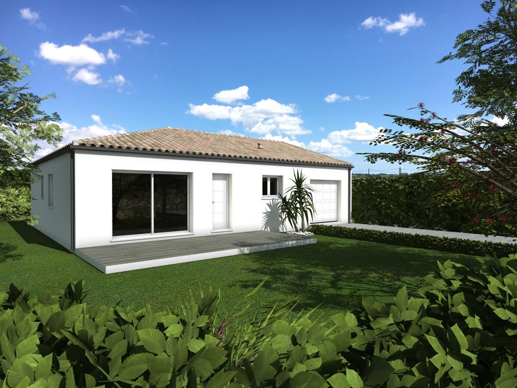 Maisons du constructeur LACIN CONSTRUCTION • 90 m² • LIEURAN LES BEZIERS
