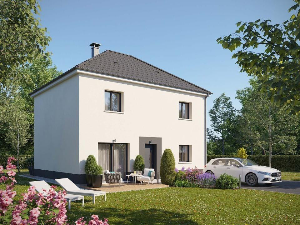 Maisons + Terrains du constructeur EXTRACO • 114 m² • ECALLES ALIX