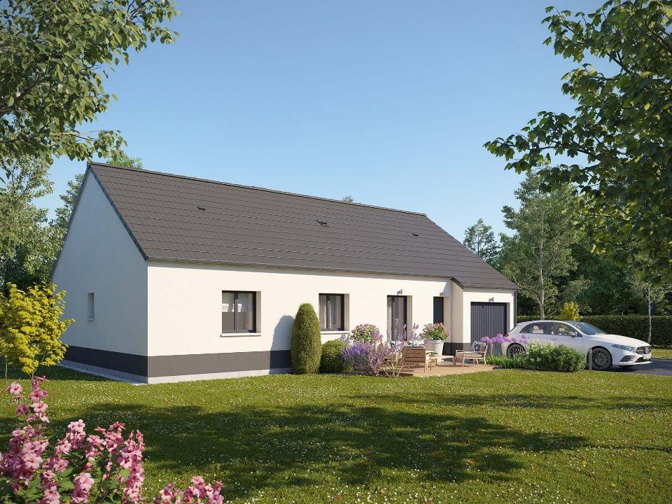 Maisons + Terrains du constructeur EXTRACO • 92 m² • LOUVETOT