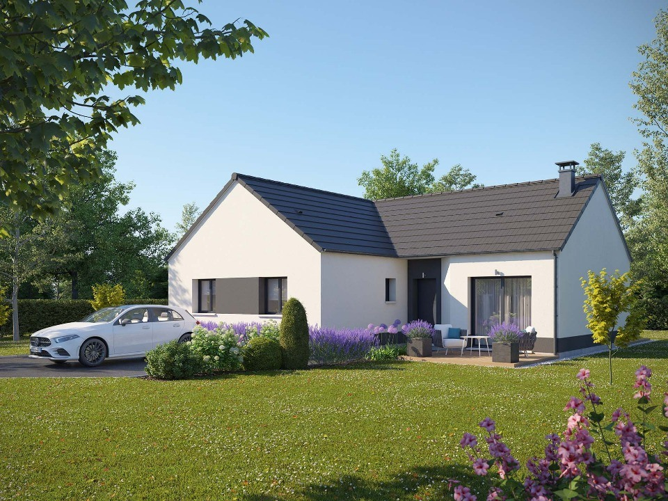 Maisons + Terrains du constructeur EXTRACO • 92 m² • ECALLES ALIX