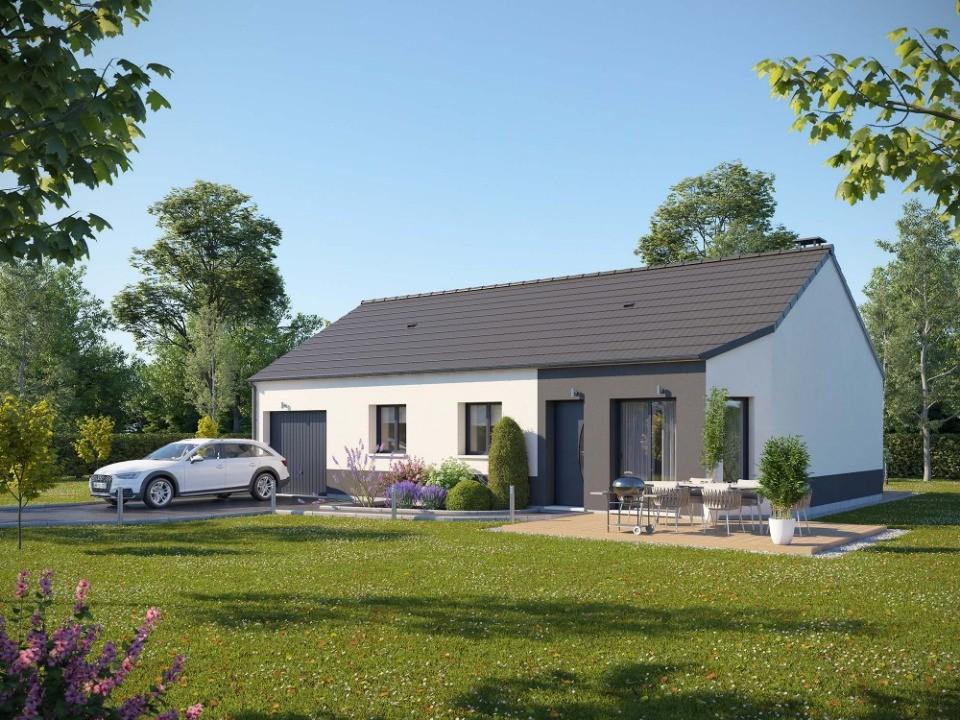 Maisons + Terrains du constructeur EXTRACO • 82 m² • AUZEBOSC