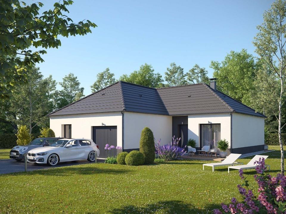 Maisons + Terrains du constructeur EXTRACO • 98 m² • SAINT CLAIR SUR LES MONTS