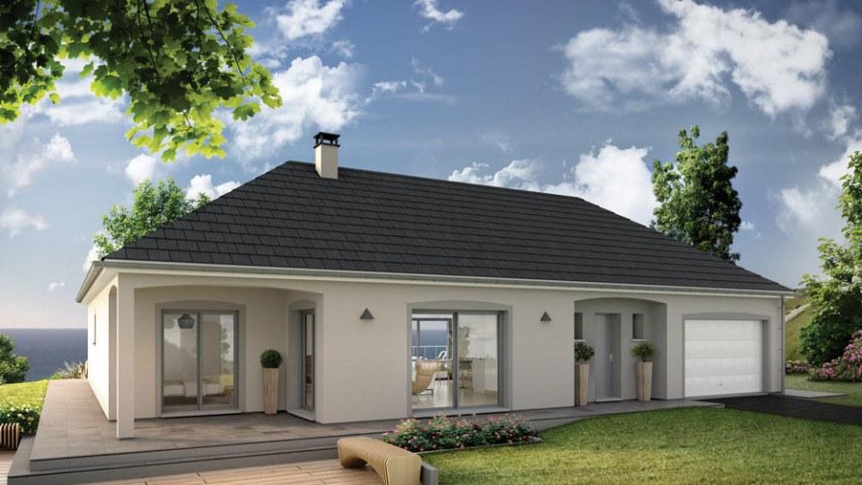Maisons + Terrains du constructeur EXTRACO • 129 m² • AUZEBOSC