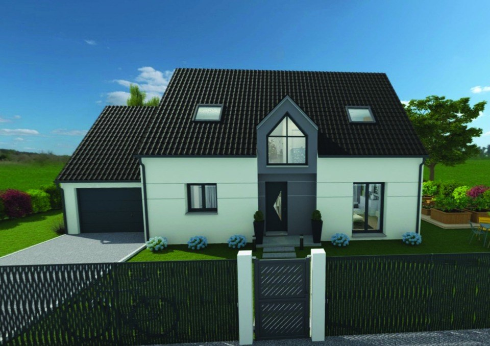 Maisons + Terrains du constructeur EXTRACO • 129 m² • SAINT CLAIR SUR LES MONTS