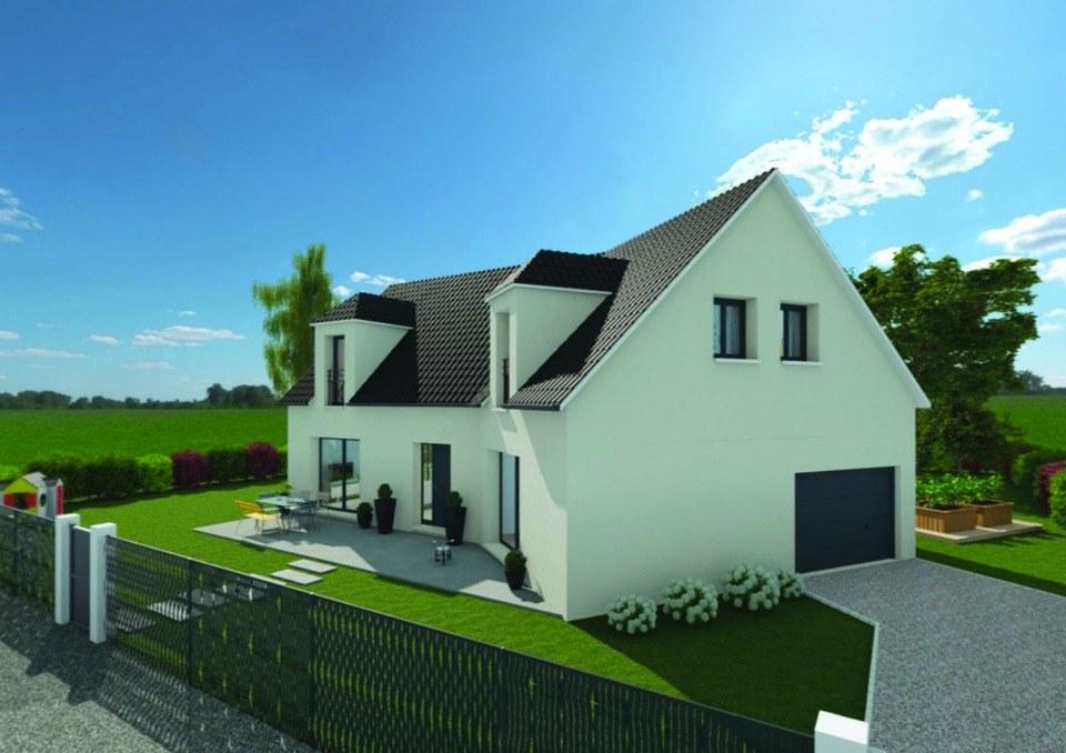 Maisons + Terrains du constructeur EXTRACO • 136 m² • YVETOT