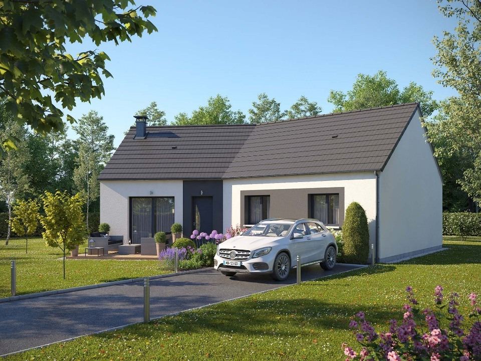 Maisons + Terrains du constructeur EXTRACO • 93 m² • SAINT CLAIR SUR LES MONTS