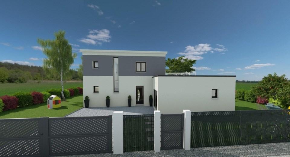 Maisons + Terrains du constructeur EXTRACO • 138 m² • SAINT CLAIR SUR LES MONTS