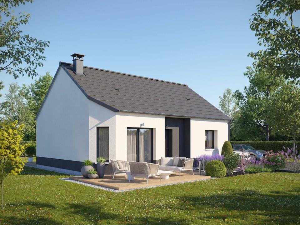 Maisons + Terrains du constructeur MAISONS EXTRACO • 60 m² • LE HOULME