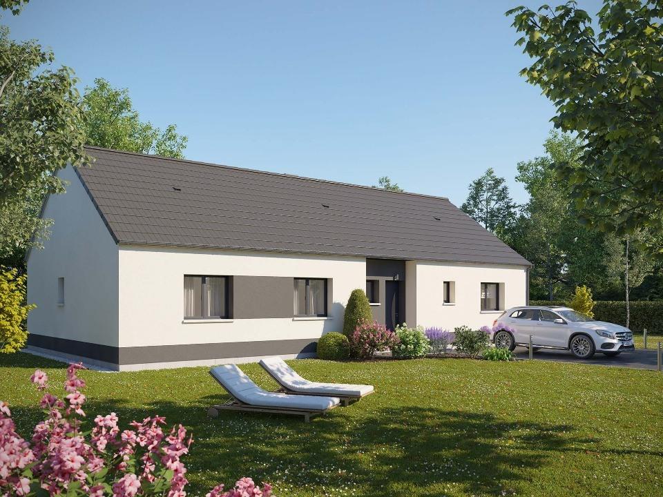 Maisons + Terrains du constructeur MAISONS EXTRACO • 114 m² • CAILLY