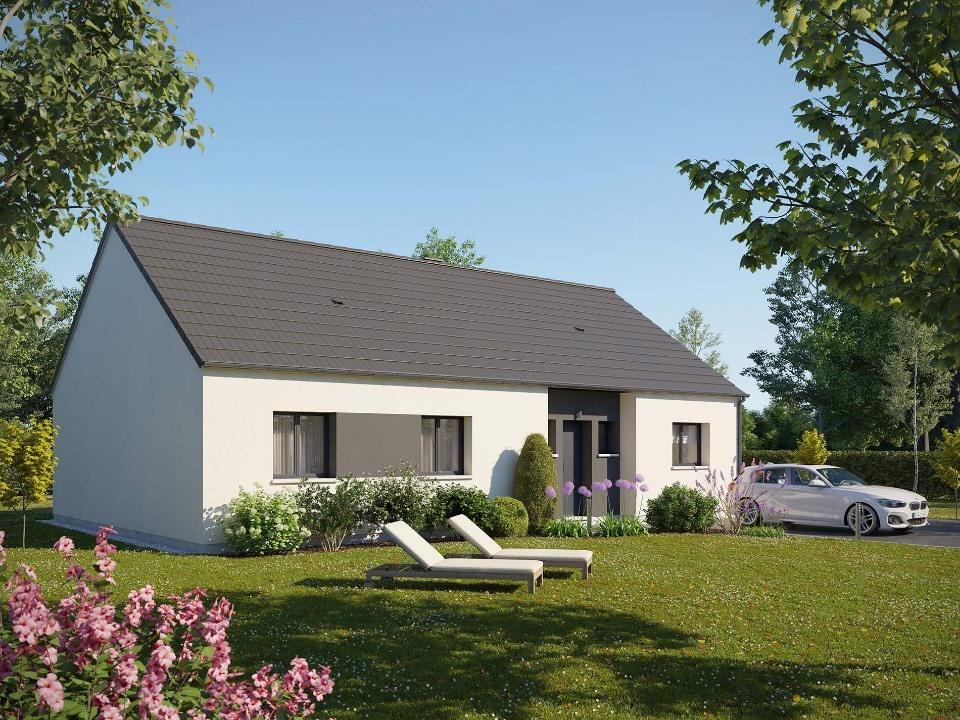 Maisons + Terrains du constructeur MAISONS EXTRACO • 105 m² • GOURNAY EN BRAY