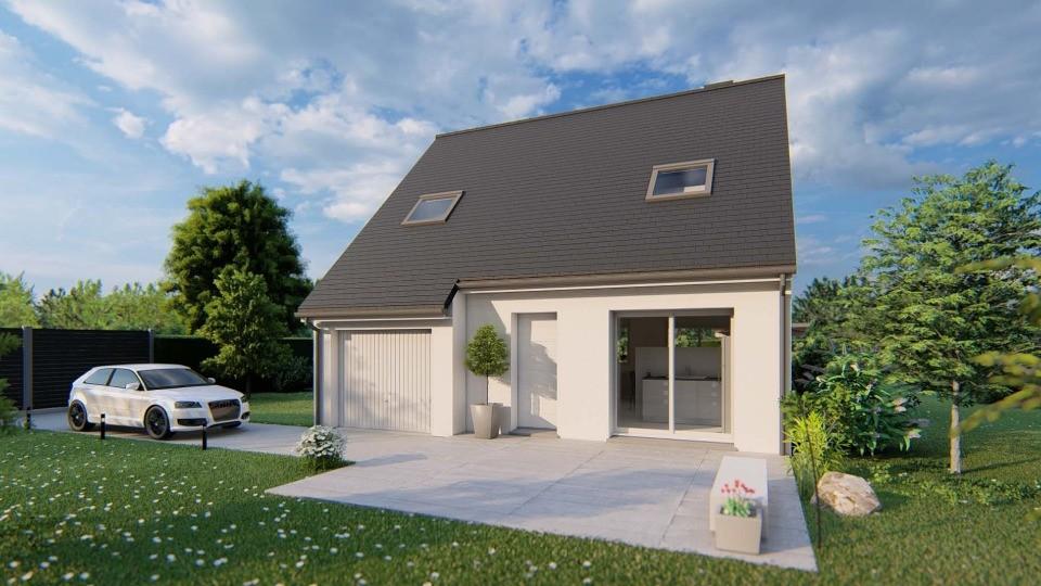 Maisons + Terrains du constructeur MAISONS EXTRACO • 81 m² • RY