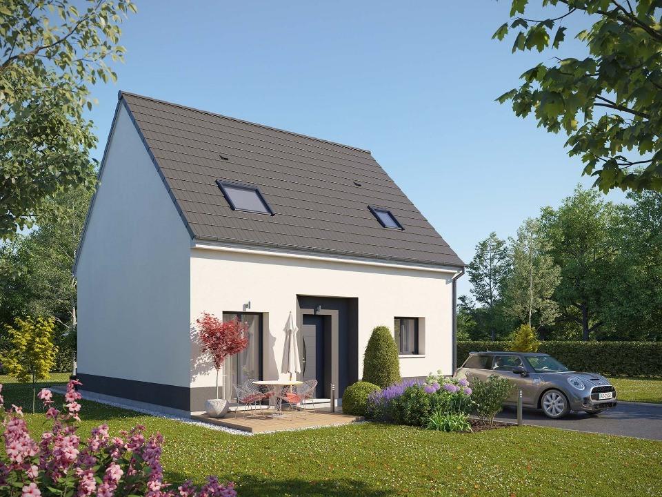 Maisons + Terrains du constructeur MAISONS EXTRACO • 86 m² • LE HOULME