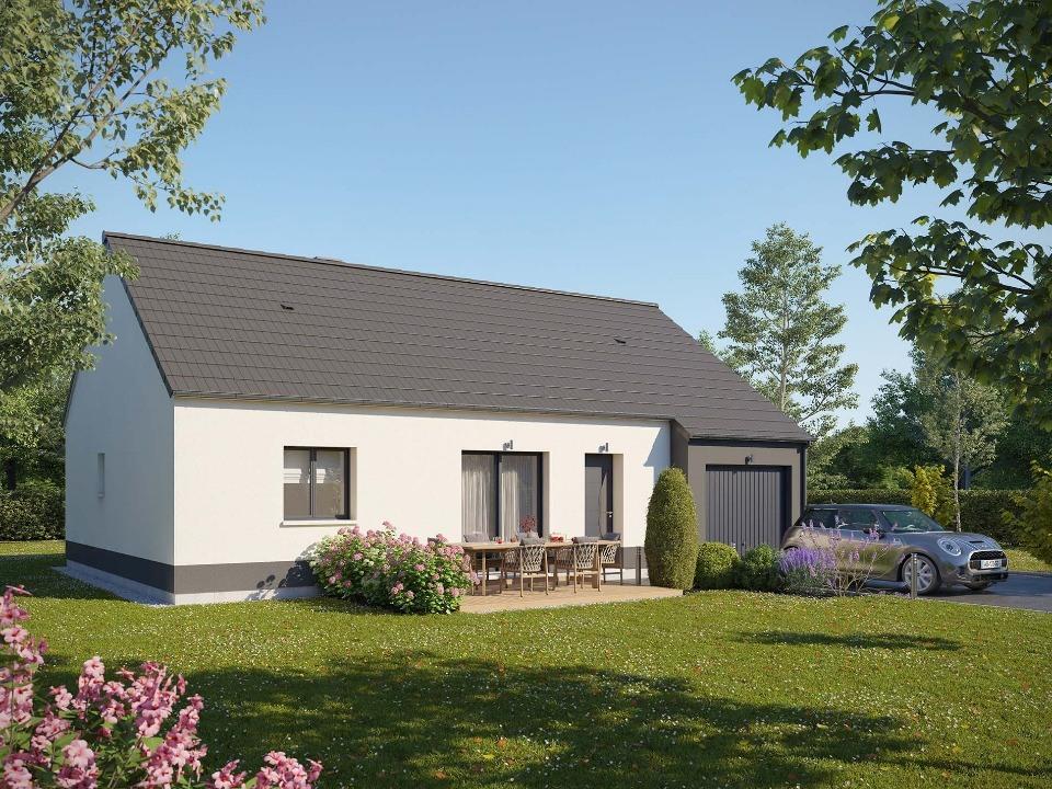 Maisons + Terrains du constructeur MAISONS EXTRACO • 80 m² • LE HOULME