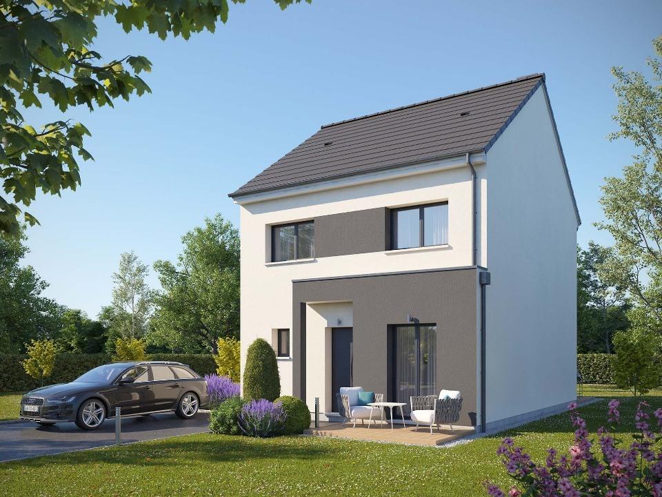 Maisons + Terrains du constructeur MAISONS EXTRACO • 88 m² • CAILLY