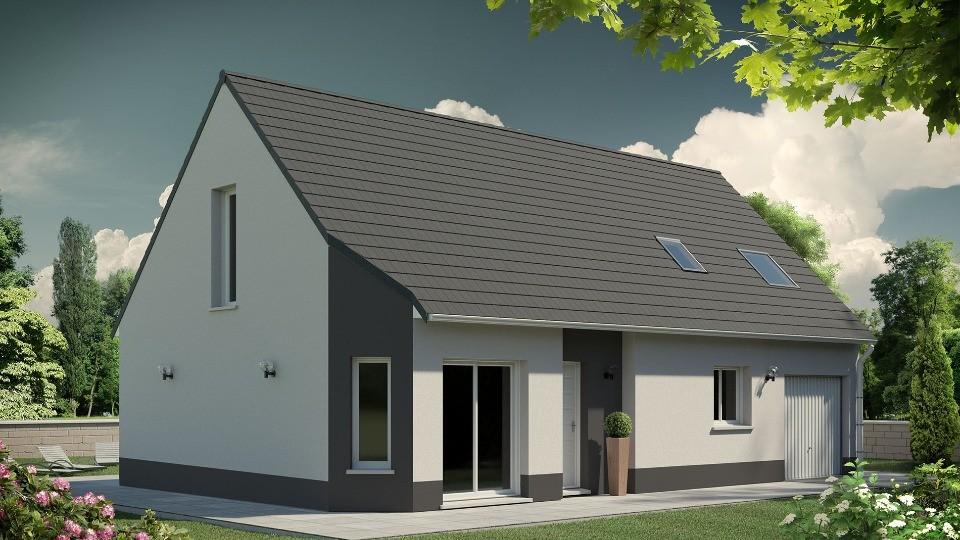 Maisons + Terrains du constructeur MAISONS EXTRACO • 114 m² • BOSC LE HARD