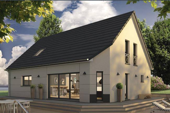 Maisons + Terrains du constructeur MAISONS EXTRACO • 137 m² • BOSC LE HARD