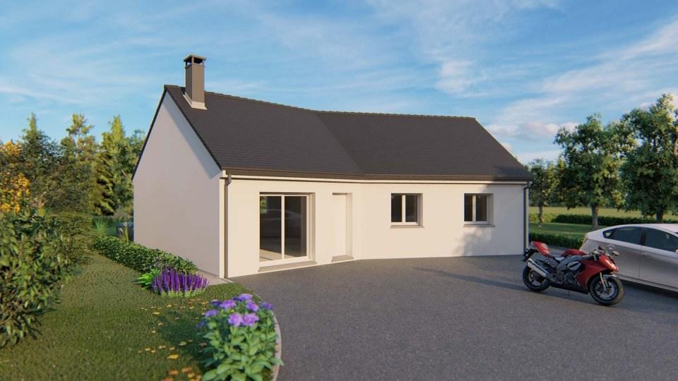 Maisons + Terrains du constructeur MAISONS EXTRACO • 93 m² • ANCEAUMEVILLE