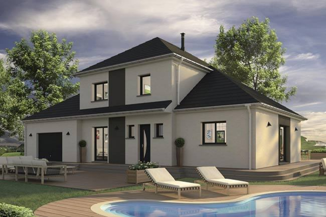 Maisons + Terrains du constructeur MAISONS EXTRACO • 139 m² • FONTAINE LE BOURG