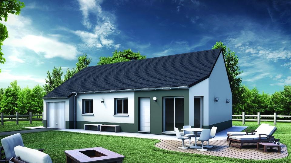 Maisons + Terrains du constructeur MAISONS EXTRACO • 83 m² • CLERES