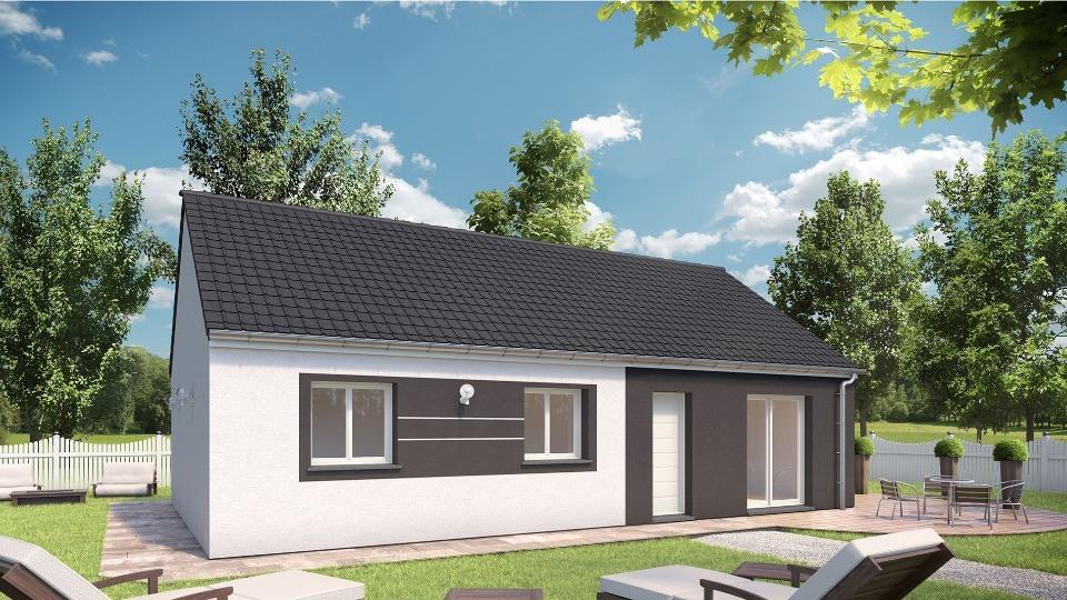 Maisons + Terrains du constructeur MAISONS EXTRACO • 79 m² • ROCQUEMONT