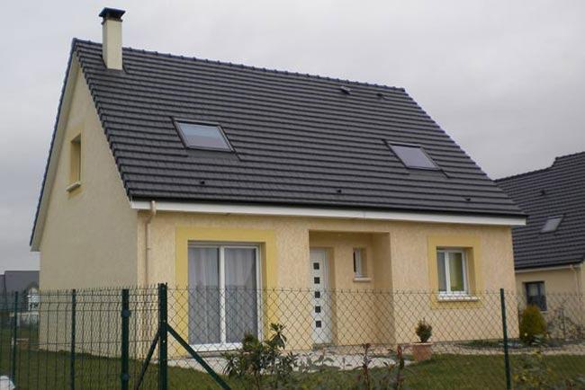 Maisons + Terrains du constructeur MAISONS EXTRACO • 90 m² • FONTAINE LE BOURG
