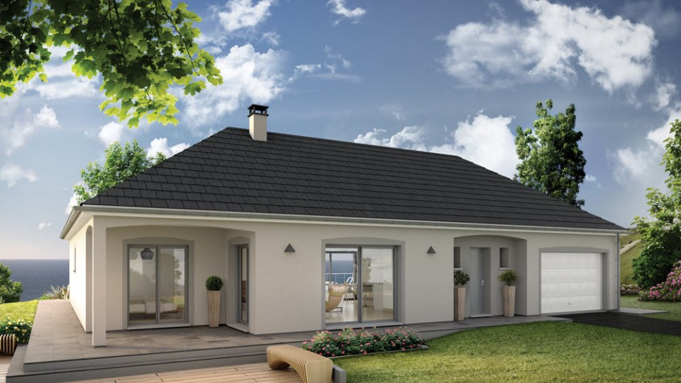 Maisons + Terrains du constructeur MAISONS EXTRACO • 129 m² • ROCQUEMONT