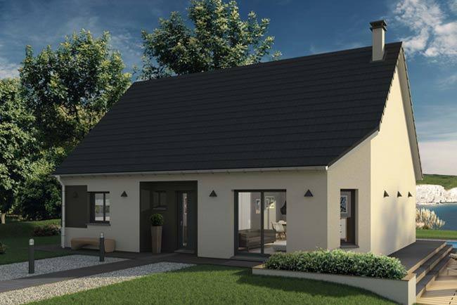 Maisons + Terrains du constructeur MAISONS EXTRACO • 91 m² • NOTRE DAME DE BONDEVILLE