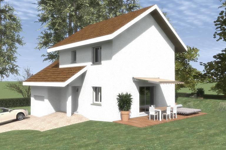 Maisons du constructeur CREAVILLA 69 • 90 m² • PONT DE CHERUY