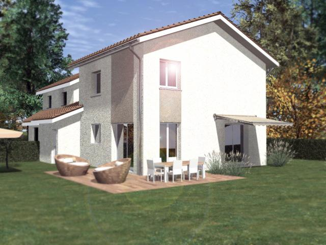 Maisons du constructeur CREAVILLA 69 • 100 m² • VAULX EN VELIN