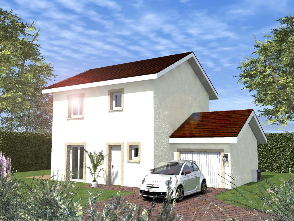 Maisons du constructeur CREAVILLA 69 • 90 m² • CONDRIEU