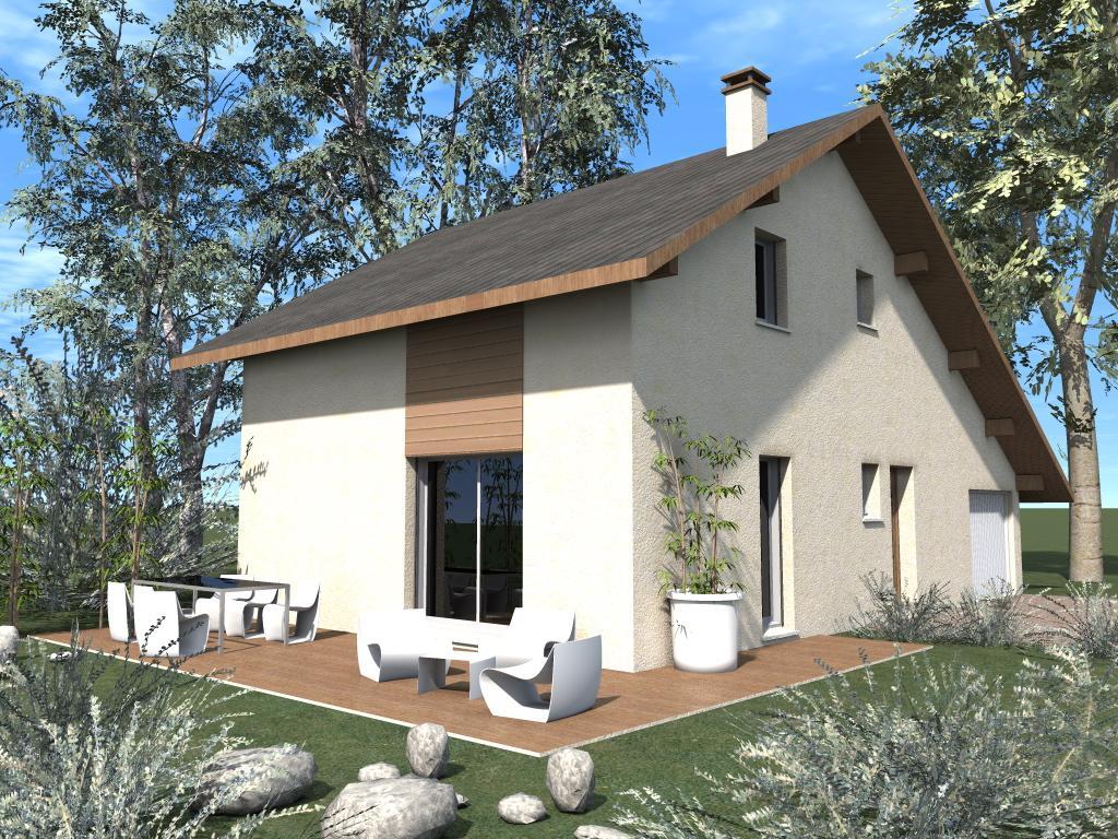 Maisons du constructeur CREAVILLA 69 • 90 m² • JARDIN