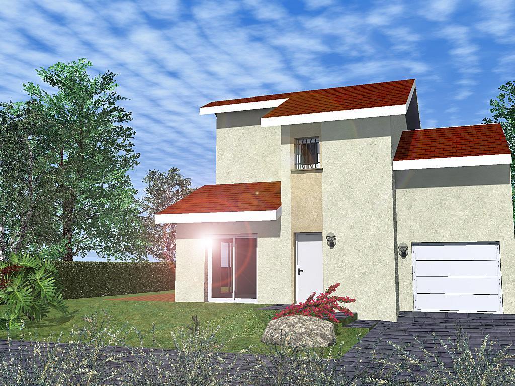 Maisons du constructeur CREAVILLA 69 • 71 m² • SOLAIZE