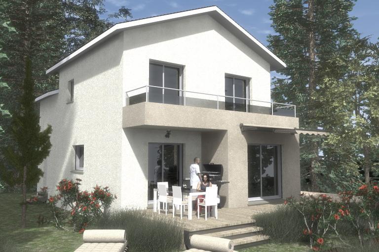 Maisons du constructeur CREAVILLA 69 • 95 m² • SAINT MAURICE DE GOURDANS