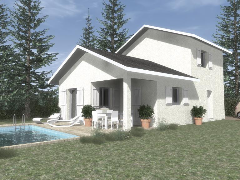 Maisons du constructeur CREAVILLA 69 • 110 m² • JONAGE