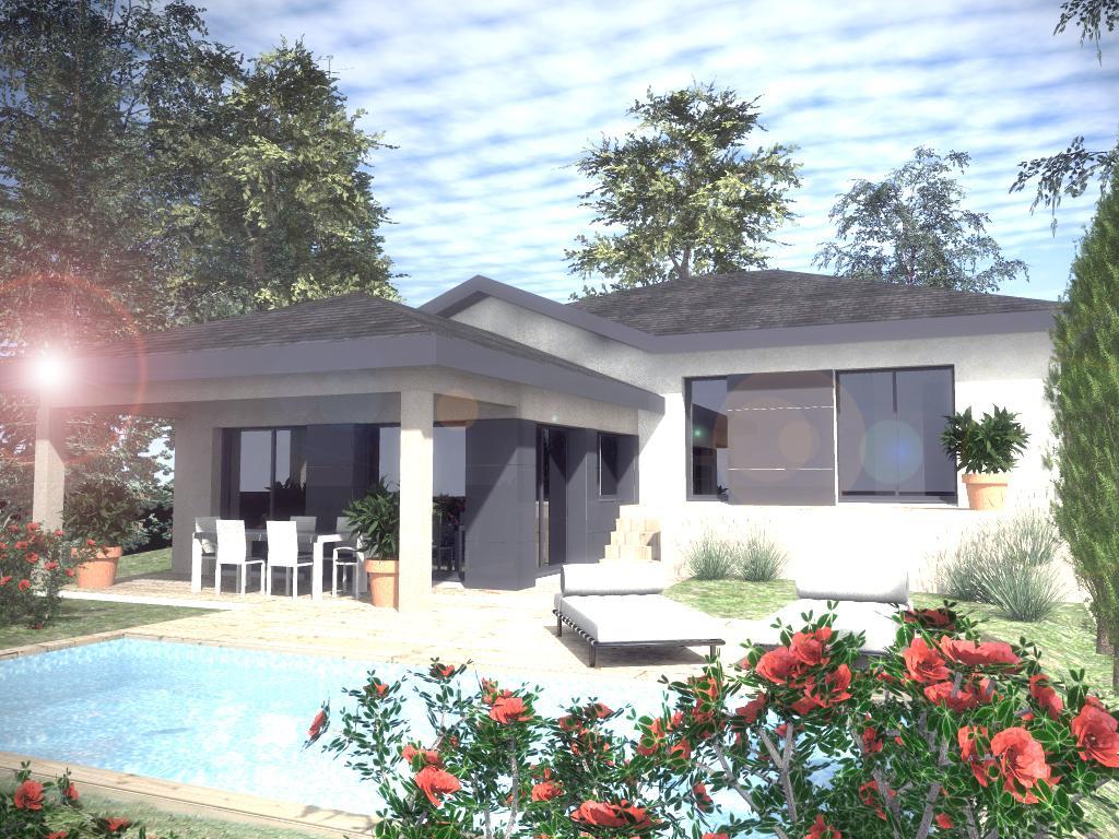 Maisons du constructeur CREAVILLA 69 • 90 m² • PUSIGNAN
