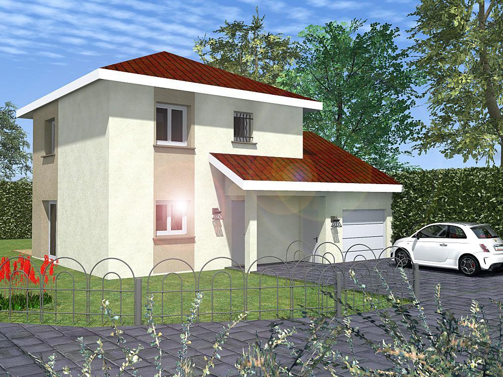 Maisons du constructeur CREAVILLA 69 • 91 m² • SAVAS MEPIN