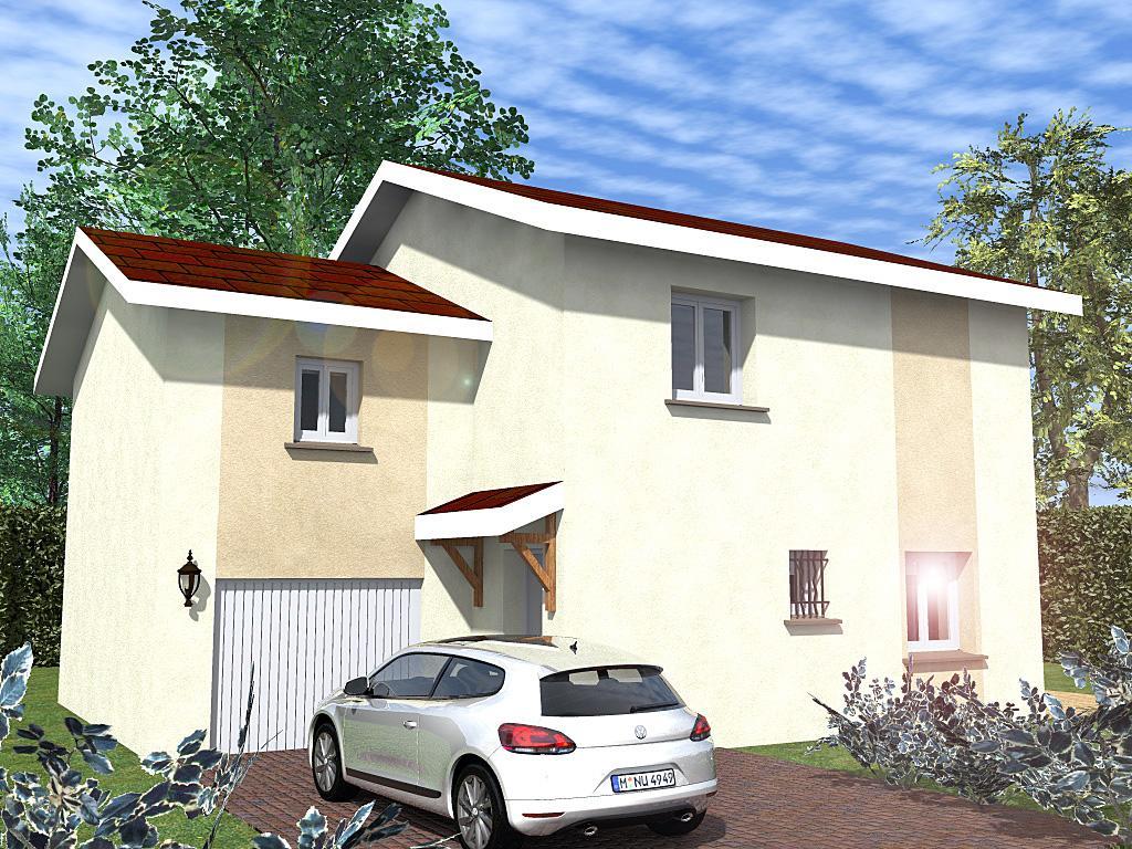 Maisons du constructeur CREAVILLA 69 • 91 m² • CHARANTONNAY