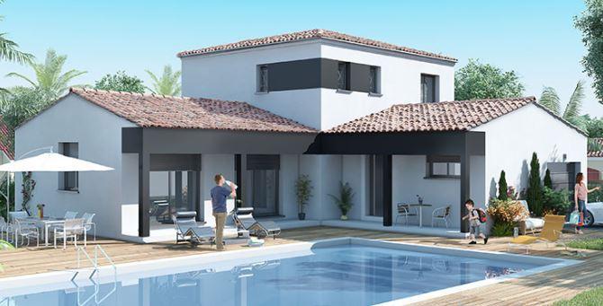 Maisons du constructeur MAISON IDEALE 83 • 92 m² • BELGENTIER