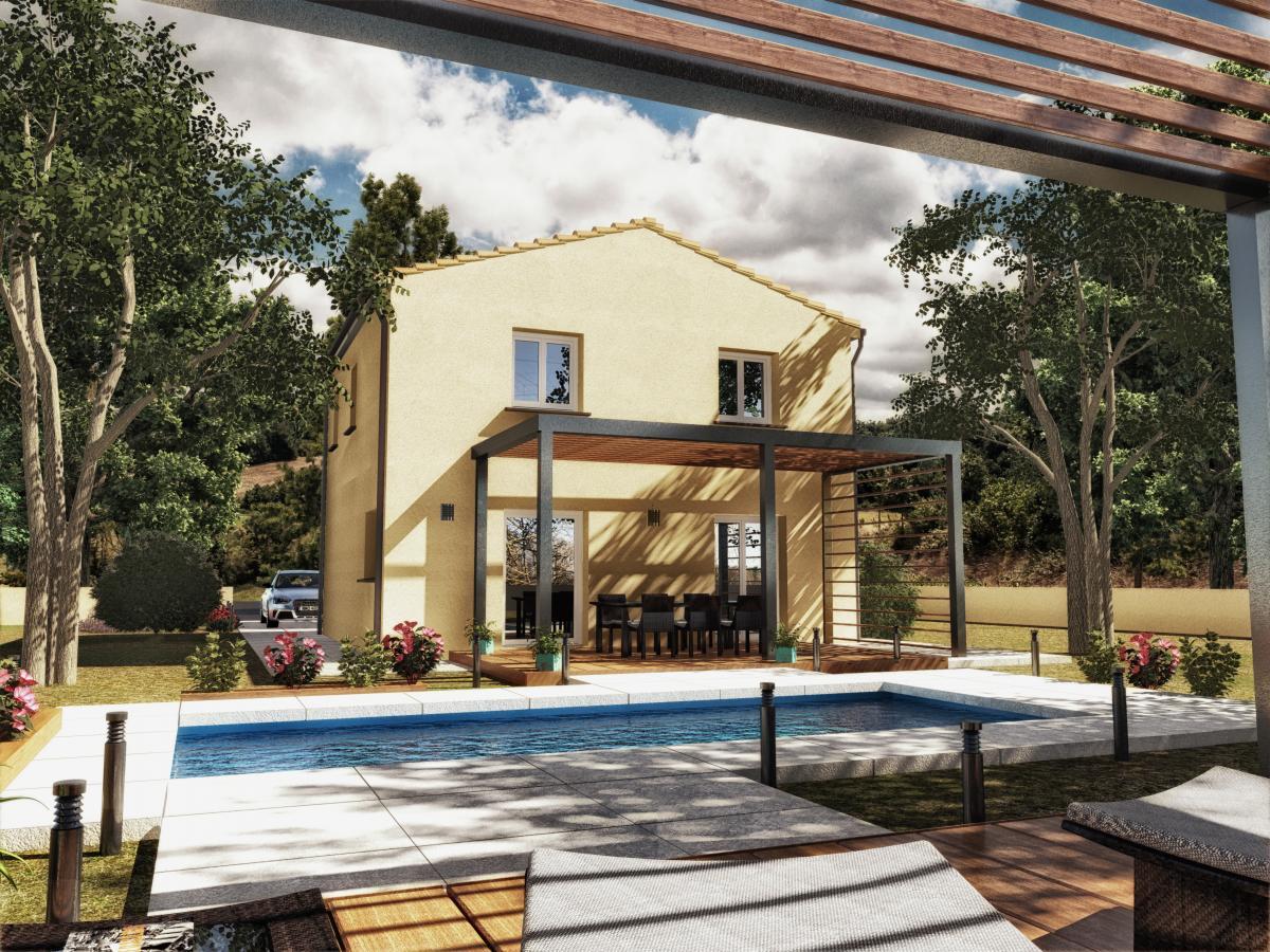 Maisons du constructeur MAISON IDEALE 83 • 95 m² • LA CELLE
