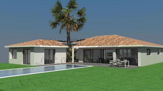 Maisons du constructeur MAISON IDEALE 83 • 90 m² • LORGUES