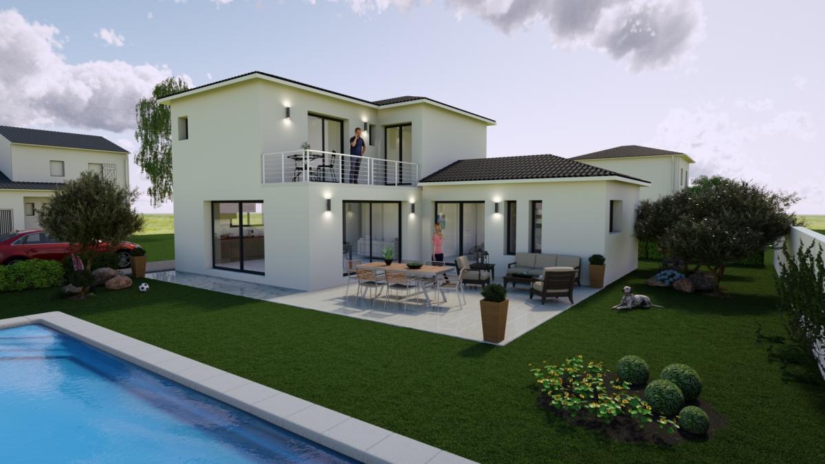 Maisons du constructeur TRADICONFORT 13 • 90 m² • GREASQUE