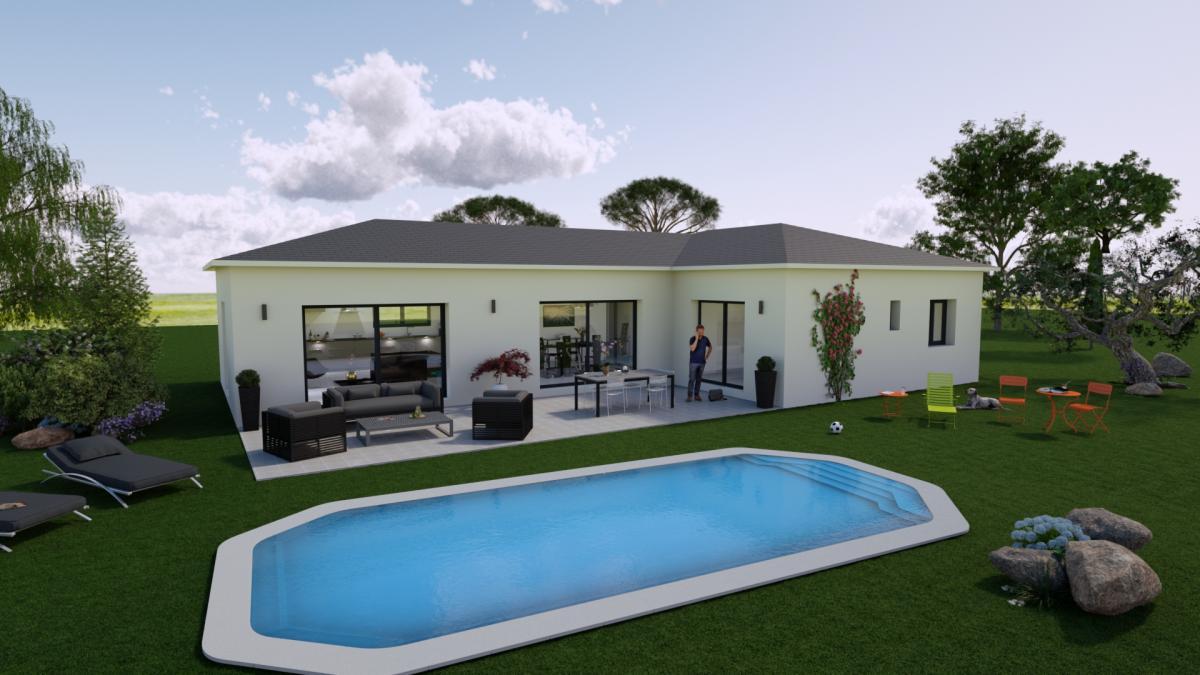 Maisons du constructeur TRADICONFORT 13 • 91 m² • SAINT ZACHARIE
