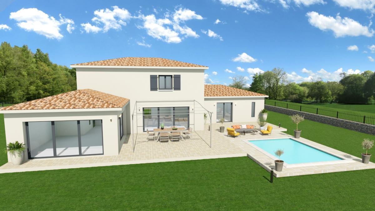 Maisons du constructeur TRADICONFORT 13 • 150 m² • AUBAGNE