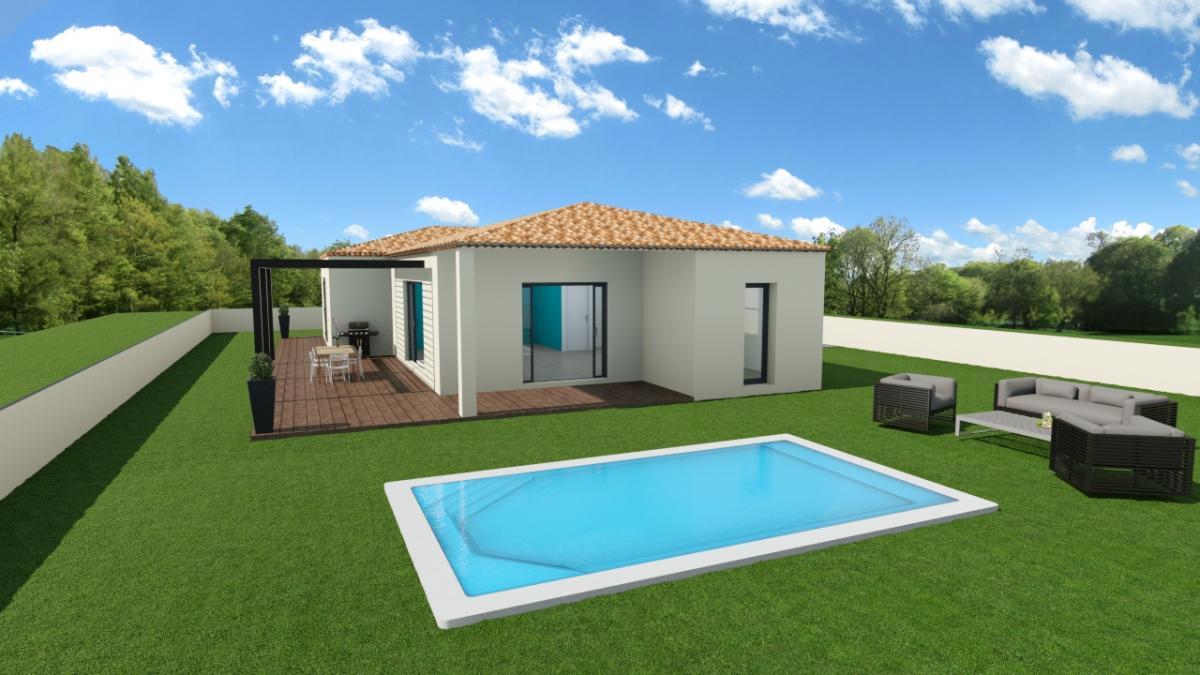 Maisons du constructeur TRADICONFORT 13 • 90 m² • LA BOUILLADISSE