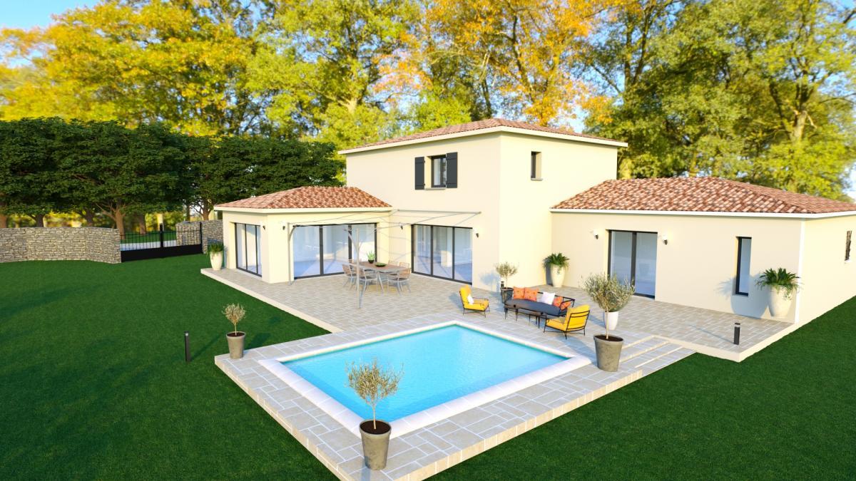 Maisons du constructeur TRADICONFORT 13 • 120 m² • LE CASTELLET