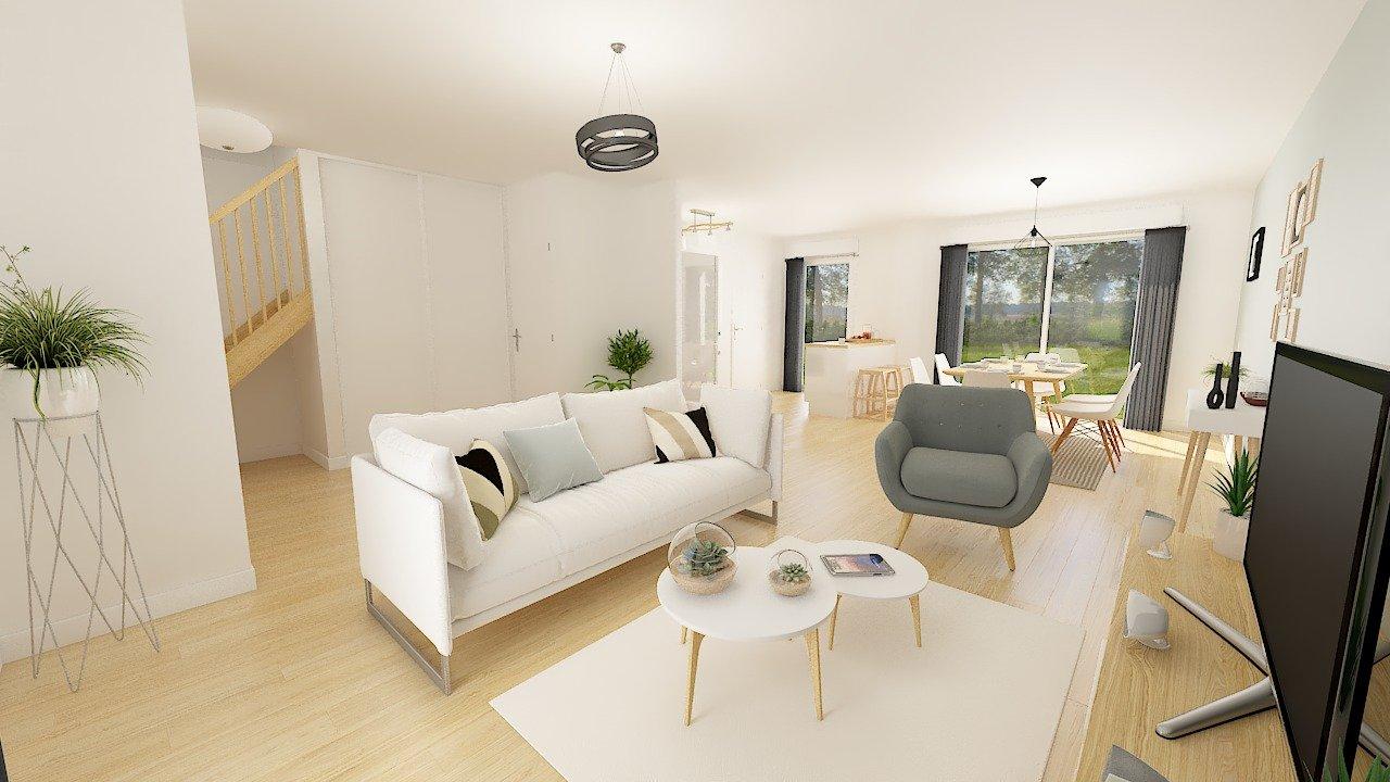 Maisons + Terrains du constructeur MAISONS PHENIX • 96 m² • SAINT GERMAIN LES ARPAJON